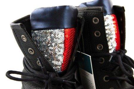 Buty Tommy Jeans Big Flag Sparkle
