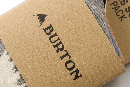 Skarpety BURTON APRES 3 PACK r. 38-42