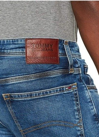 Spodnie Tommy Jeans Straight Ryan