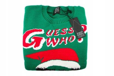Sweter BELLFIELD BILL męski świąteczny   M